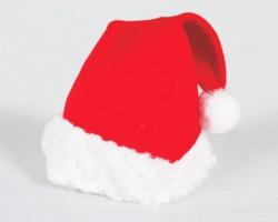 Cappello da Babbo Natale serie lusso, in blister