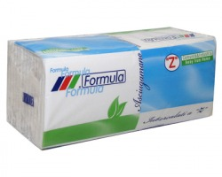 Formula Asciugamani piegati a Z, 2 veli, 143pz, in pura cellulosa, made in Italy