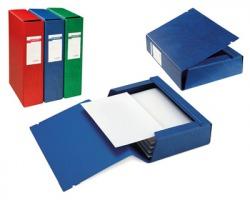 Sei 67308012 Archivio 3L - Cartella 8cm 3 lembi, con elastico rosso - 25pz