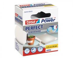 Tesa 56343-00035 Nastro extra power perfect bianco, misure 38mm x 2.75m - 1pz
