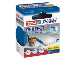 Tesa 56343-00036 Nastro extra power perfect blu, misure 38mm x 2.75m - 1pz