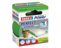 Tesa 56343-00039 Nastro extra power perfect verde, misure 38mm x 2.75m - 1pz