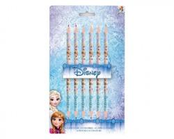 Disney Frozen Matite colorate B-Face, 6 matite colorate a 2 punte di 2 diversi colori