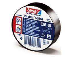 Tesa 53988 Nastro isolante, misure 15mm x 10m, colore nero - conf. 10pz