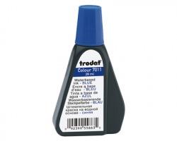 Trodat 7011 Inchiostro per timbri in gomma 28ml blu (55883)