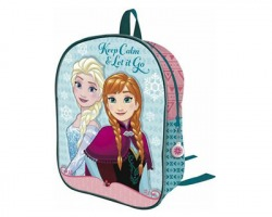 Disney Frozen Gold Zainetto in tessuto 28cm, 1 cerniera
