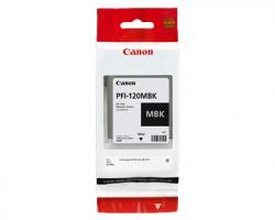 Canon PFI120MBK Cartuccia inkjet nero opaco originale (2884C001AA)