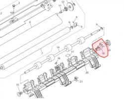 Konica Minolta 2021400201031 Bushing originale