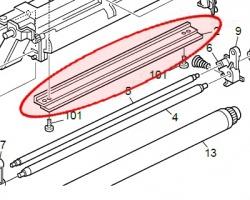 Ricoh ad041114 Lama pulizia drum compatibile