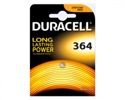 Duracell D364 batteria al litio 1.5V per orologi blister da 1pz