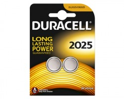 Duracell CR2025/DL2025 batteria al litio 3V blister da 2pz