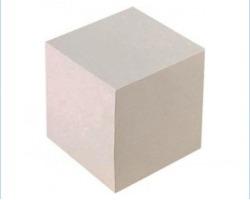 Brefiocart 0209901 Cubo bianco formato 9x9x9cm 1224ff 1pz