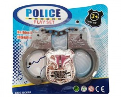 Gioco Manette + distintivo polizia