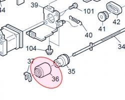 Ricoh AF032050 Separation roller originale