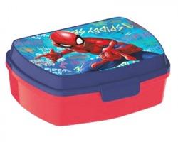 Spiderman Portapranzo in plastica con chiusura ermetica.