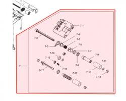 Samsung JC6603439A Pickup roller originale