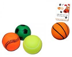 Palla sport per cani, colori assortiti