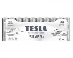 Tesla 1099137212 Batterie alcaline silver+ LR6 AA stilo 1,5V conf. da 10pz