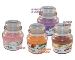 Candela Atmosphere profumata Big jar, altezza 13cm, 310g di cera, profumazioni assortite