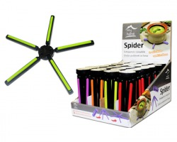 Spider Sottopentola ripiegabile, colori assortiti