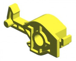 Ricoh D0396227 Front transfer/ Separation lever originale