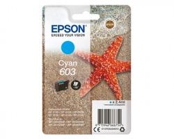 Epson 603 Cartuccia inkjet ciano originale (C13T03U24010)