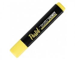 Fila-Tratto 833501 Tratto video Pastel - evidenziatore giallo limone punta a scalpello, 1pz