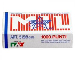 Zenith 305151801 Scatola di 1.000 punti 515/8 in acciaio (24/8) conf.10pz
