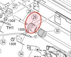 Konica Minolta 4030572801 Gear originale