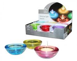 Portacandela Tea light in colori assortiti
