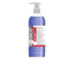 Oxalis Sani Soap Sapone lavamani professionale con antibatterico H.A.C.C.P., flacone da 1l con erogatore