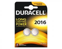 Duracell CR2016/DL2016 batteria al litio 3V blister da 2pz