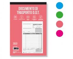 Scatto SC-3001 Blocco documenti di trasporto in duplice copia 14.8 x 22cm, 50fogli - 1pz