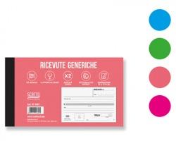 Scatto SC-1602 Ricevute generiche, 50 moduli autoricalcanti in duplice copia