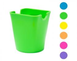 Scatto 329 Bicchiere portapenne in PP, colori fluo assortiti