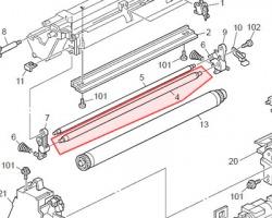 Ricoh AD027018 Charge Roller compatibile (rullo di carica) (AD027014)(G0523510)