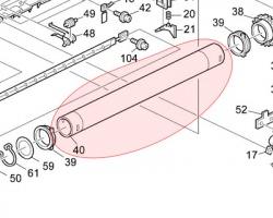 Ricoh AE011061 Rullo fusore superiore originale