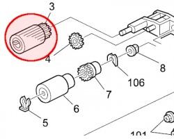 Ricoh AF030085 Pickup roller originale