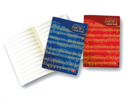 Pigna 0408197IN Musica - Album A4 con pentegramma musicale 85g 32 fogli - conf. 10pz