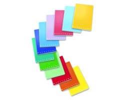 Pigna 02298874M Monocromo - Maxi quaderno a punto metallico c/rigatura 4MM - 10pz