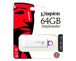 Kingston Datatraveler G4 USB 3.0 64GB colore nero (DTIG4/64GB)