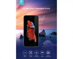 Devia® Vetro temperato per iPhone SE2, trasparente, inclusa pellicola di protezione posteriore