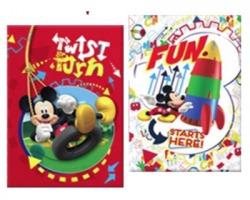 Disney Topolino Maxi quaderno 100gr A4 rigatura 1R - Soggetti Disney Topolino assortiti