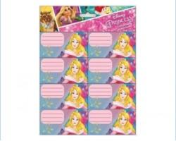 Disney Principesse Etichette segnanome per libri e quaderni da 2ff blister da 16 etichette