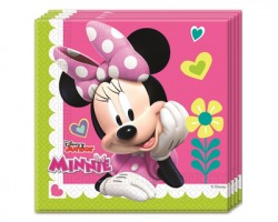 Disney Minnie Tovaglioli in carta 33 x 33cm - conf. 20pz