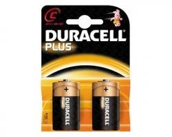 Duracell MN1400 batterie alcaline plus power mezza torcia 1,5v blister da 2pz (81275329)