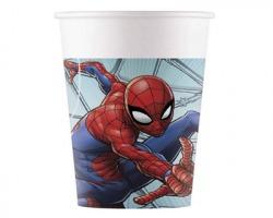 Spiderman Bicchieri in carta - conf. 8pz