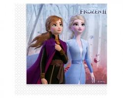 Disney Frozen II Tovaglioli in carta 33 x 33cm - conf. 20pz