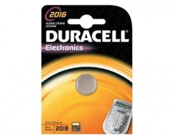 Duracell 81338997 Cr2016 batteria al litio 3v 90mha - in blister - 1pz