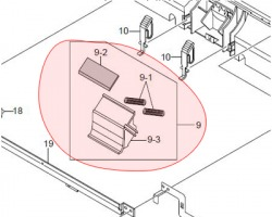 Samsung JC9702217A Mea unit- Holder pad originale